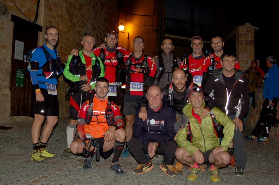 Grup local que va participar a la Long Trail